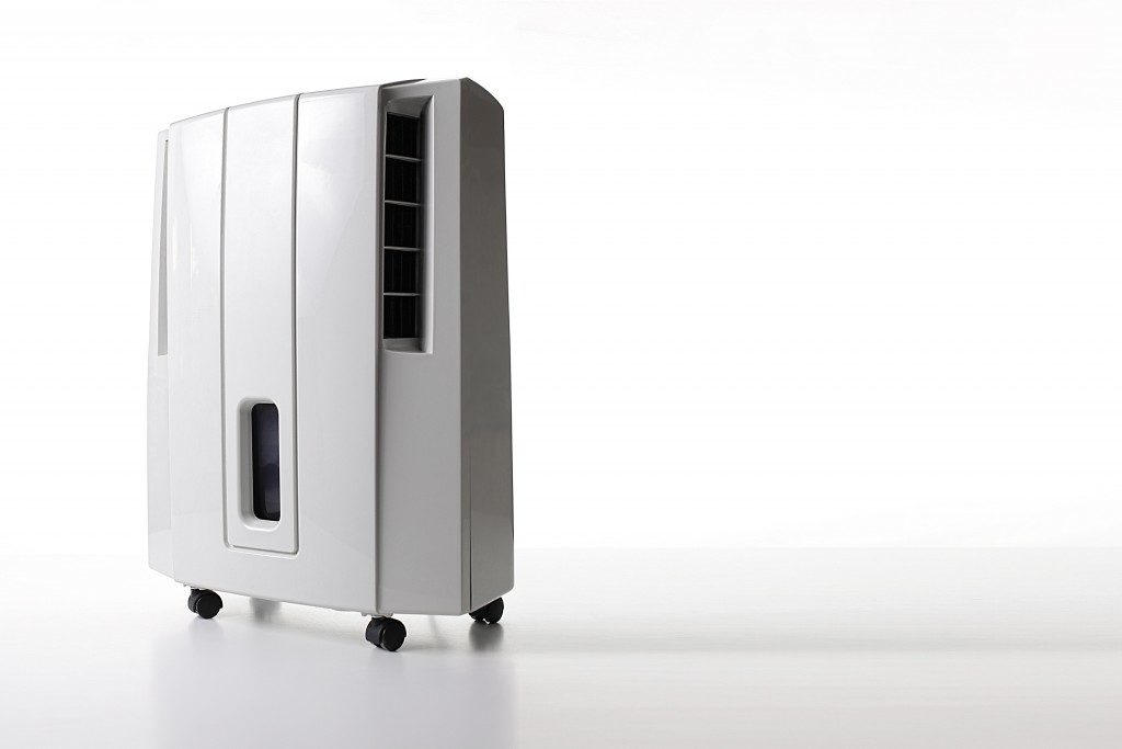 white zone-generating air purifier