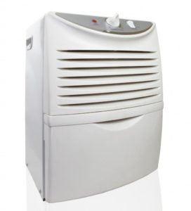 white ozone-generating air purifier
