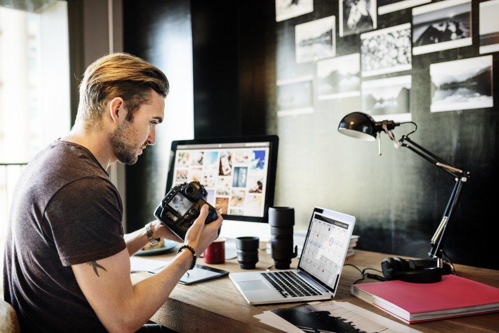 Photography Shoot Designer Planning Background