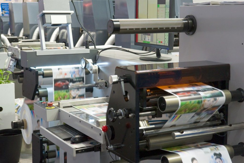 Printing machines for business