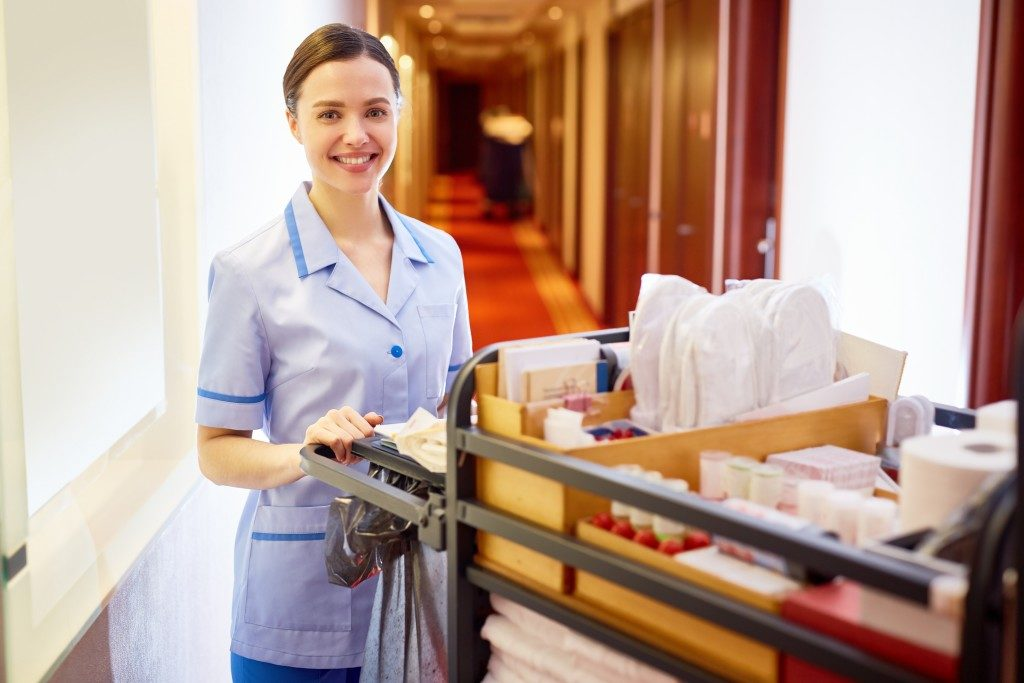 hotel cleaner