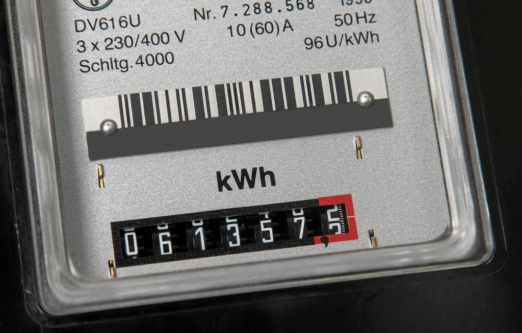 close up shot of a mechanical meters