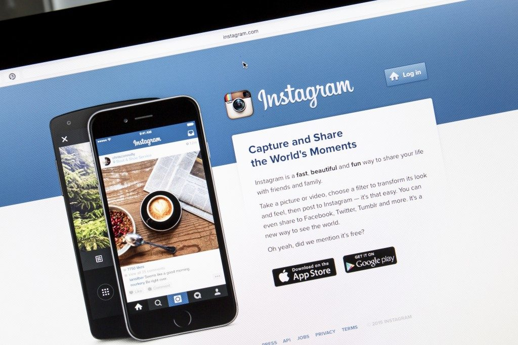 Instagram in desktop