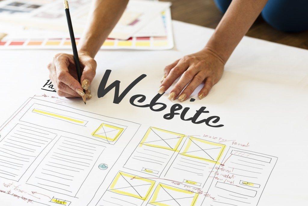 Website design conceptualization