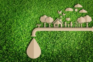water conservation concept