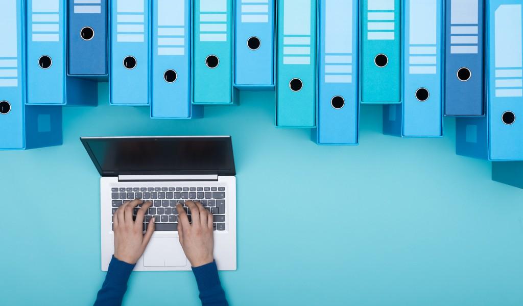 archiving websites concept