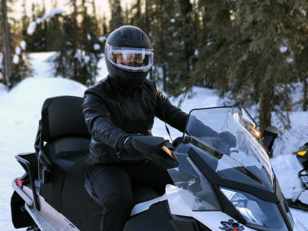 Winter motorbike