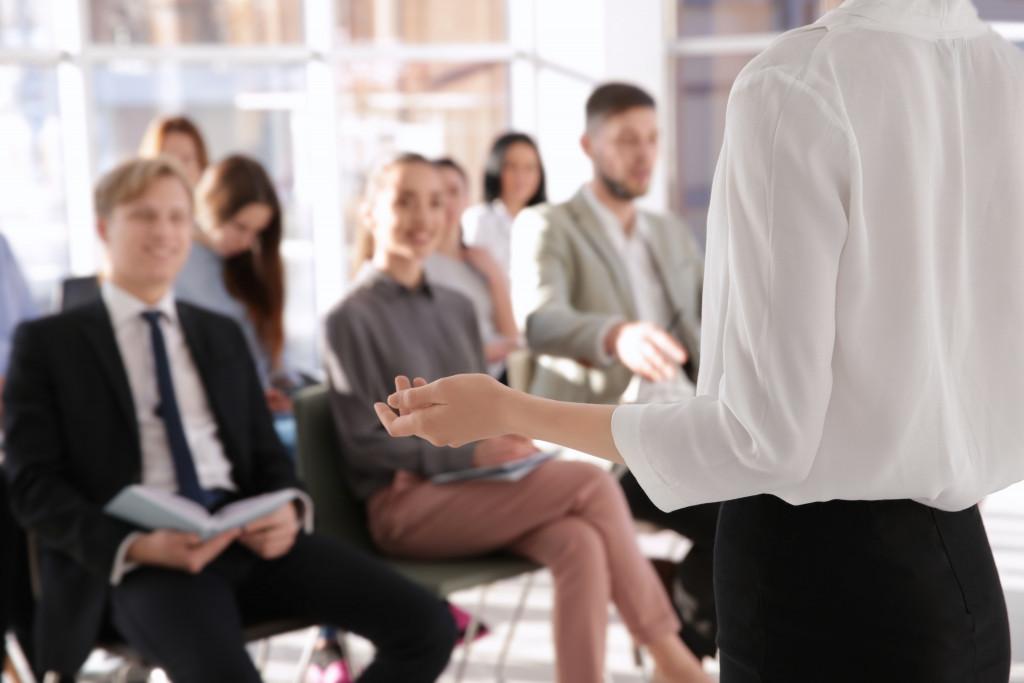 employee seminar concept