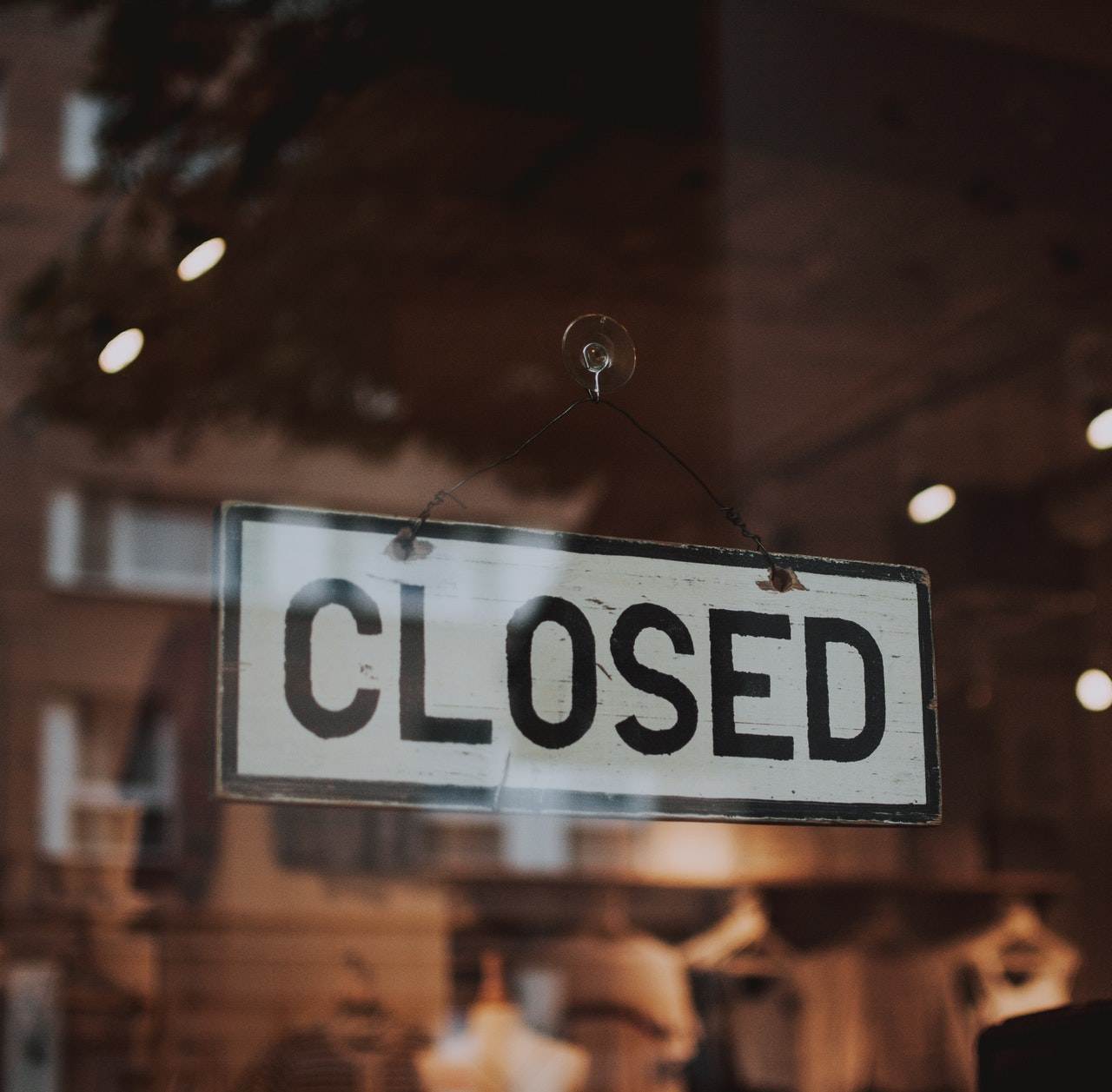 closed store