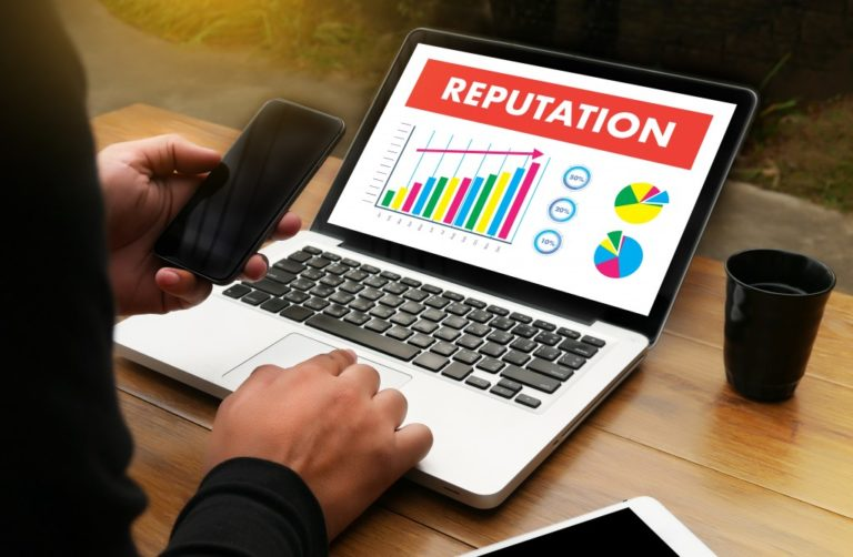 online reputation concept