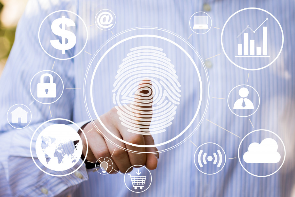 fingerprint scanner for technology use